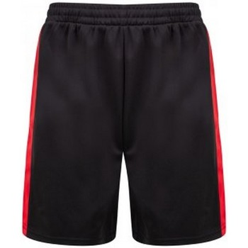 Textil Homem Shorts / Bermudas Finden & Hales LV885 Preto/Vermelho