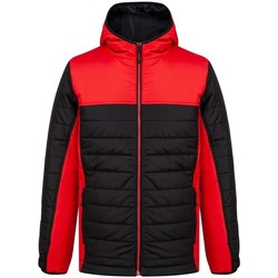 Textil Homem Quispos Finden & Hales LV660 Preto/Vermelho