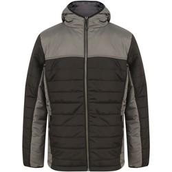 Textil Quispos Finden & Hales LV660 Preto/Gunmetal Cinza
