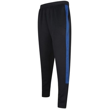 Textil Homem Calças de treino Finden & Hales LV881 Marinha/Royal Blue