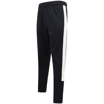 Textil Homem Calças de treino Finden & Hales LV881 Marinha/ Branco