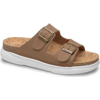 Sapatos Mulher Chinelos Feliz Caminar SANDALIA BELONA - Castanho