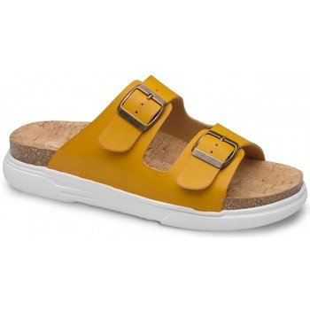 Sapatos Mulher Chinelos Feliz Caminar SANDALIA BELONA - Amarelo