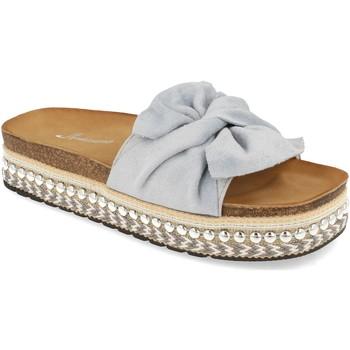 Sapatos Mulher Chinelos Buonarotti YT5570 Azul