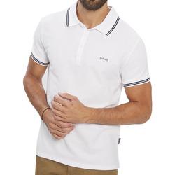 Textil Homem Polos mangas curta Schott  Branco