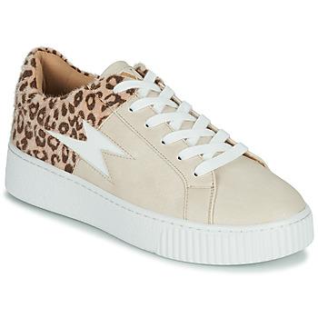 Sapatos Mulher Sapatilhas Vanessa Wu VENDAVEL Bege / Leopardo