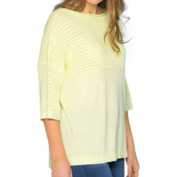 Textil Mulher camisolas Deeluxe  Amarelo