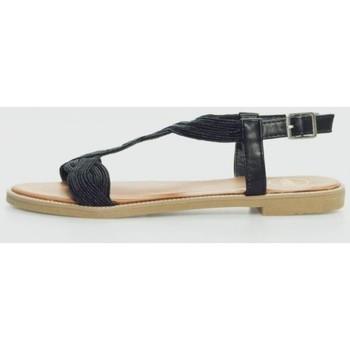 Sapatos Mulher Sandálias Exé Shoes P3374-191 Negro