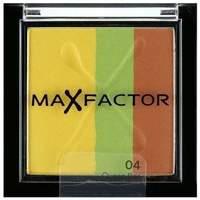 beleza Mulher Sombra e base Max Factor Eye Shadow Trio Max Effect, Queen Bee - sombra de olhos Eye Shadow Trio Max Effect, Queen Bee - eyeshadow