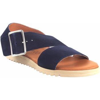 Sapatos Mulher Sandálias Eva Frutos Sandália senhora  1218 azul Azul