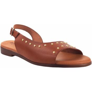 Sapatos Mulher Sandálias Eva Frutos Sandália de senhora  9106 couro Castanho