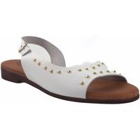 Sapatos Mulher Sandálias Eva Frutos Sandália senhora  9106 branca Branco
