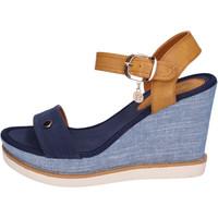 Sapatos Mulher Sandálias Enrico Coveri BH490 Azul