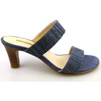 Sapatos Mulher Chinelos PintoDiBlu 63030-02 Azul
