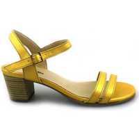 Sapatos Mulher Sandálias PintoDiBlu 63101-02 Amarelo