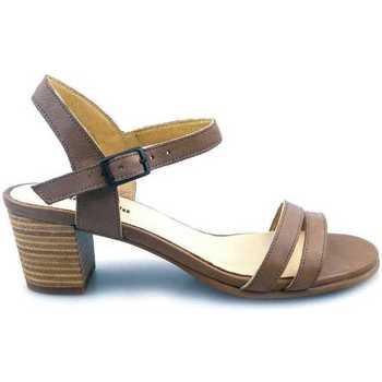 Sapatos Mulher Sandálias PintoDiBlu 63101-03 Castanho