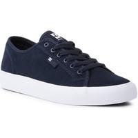 Sapatos Homem Sapatos estilo skate DC Shoes DC Manual S ADYS300637-DNW granatowy