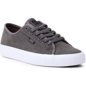 Sapatos Homem Sapatos estilo skate DC Shoes DC Manual S ADYS300637-GRY grey