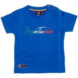 Textil Homem T-Shirt mangas curtas Sergio Tacchini  Azul