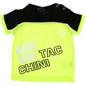 Textil Rapaz T-Shirt mangas curtas Sergio Tacchini  Amarelo