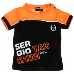 Textil Homem T-Shirt mangas curtas Sergio Tacchini  Preto
