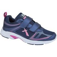 Sapatos Mulher Sapatilhas Dek  Marinha/Fúcsia