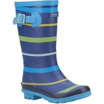 Sapatos Rapaz Botas de borracha Cotswold  Azul/Verde/Amarelo