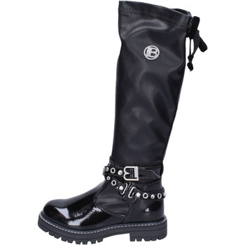Sapatos Rapariga Botas altas Laura Biagiotti  Preto