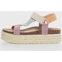 Sapatos Mulher Sandálias Trend Shoes CALIFORNIANA PLATAF 3C Multicolor