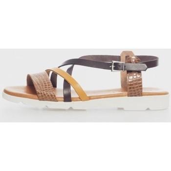Sapatos Mulher Sandálias Kamome 4812 Marrón