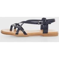 Sapatos Mulher Sandálias Kamome 4802 Negro