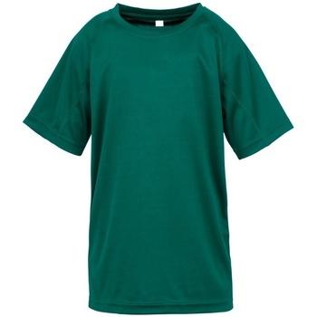 Textil Rapaz T-Shirt mangas curtas Spiro S287J Garrafa Verde