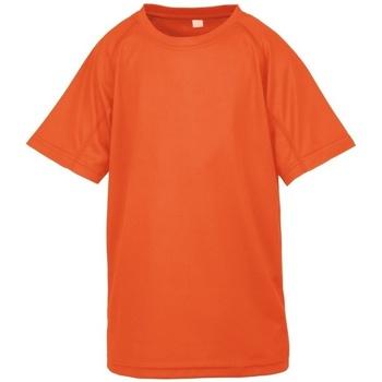 Textil Rapaz T-Shirt mangas curtas Spiro S287J Flo Orange