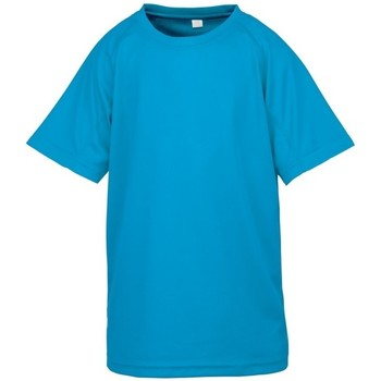 Textil Rapaz T-Shirt mangas curtas Spiro S287J Azul-marinho