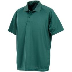 Textil Homem Polos mangas curta Spiro S288X Garrafa Verde