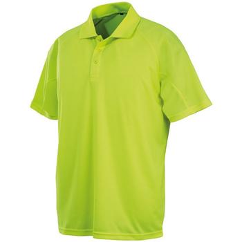 Textil Homem Polos mangas curta Spiro S288X Flo Yellow
