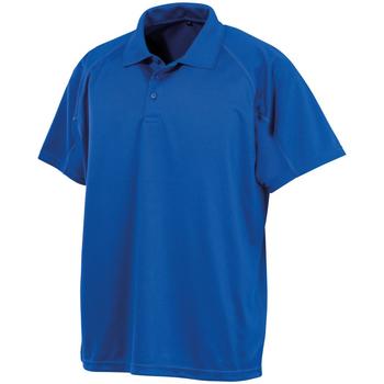 Textil Homem Polos mangas curta Spiro S288X Royal Blue