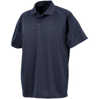 Textil Homem Polos mangas curta Spiro S288X Azul-marinho
