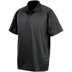 Textil Homem Polos mangas curta Spiro S288X Preto