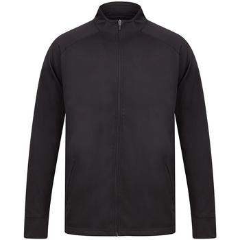 Textil Homem Casacos fato de treino Finden & Hales LV871 Preto/preto