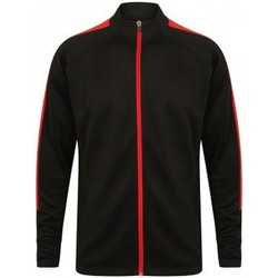Textil Homem Casacos fato de treino Finden & Hales LV871 Preto/Vermelho