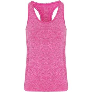 Textil Mulher Tops sem mangas Tridri TR209 Pink