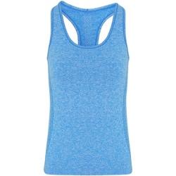 Textil Mulher Tops sem mangas Tridri TR209 Sapphire Blue