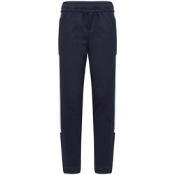Textil Rapaz Calças de treino Finden & Hales LV883 Marinha/ Branco