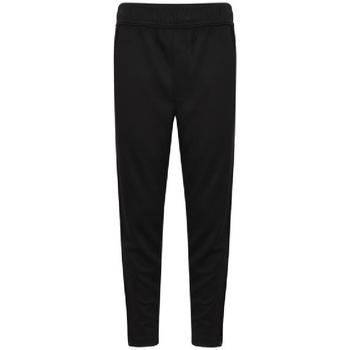 Textil Rapaz Calças de treino Finden & Hales  Preto/branco