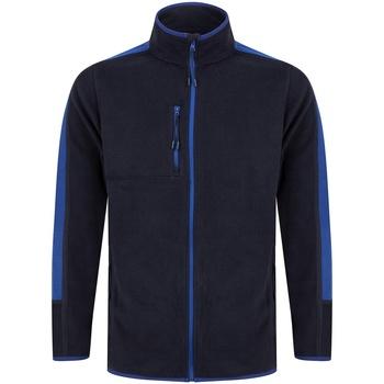 Textil Casaco polar Finden & Hales LV580 Marinha/Royal Blue