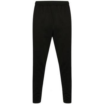 Textil Homem Calças de treino Finden & Hales  Preto/Gunmetal Cinza
