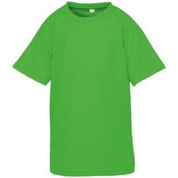 Textil Criança T-Shirt mangas curtas Spiro SR287B Flo Verde