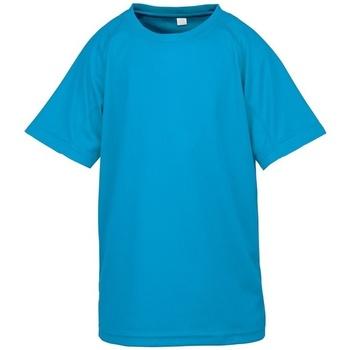 Textil Criança T-Shirt mangas curtas Spiro SR287B Azul-marinho