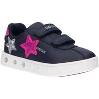Sapatos Rapariga Multi-desportos Geox J928WC 000BC J SKYLIN Azul